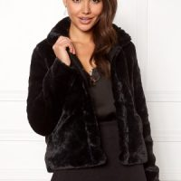 ONLY Vida Faux Fur Jacket Black M