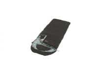 Outwell Camper Lux L, Sleeping Bag - Left Zipper, 235 x 90 cm, YKK 2-way L-shape open-end with auto lock, Black