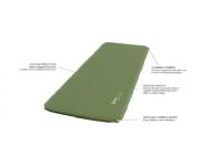 Outwell Dreamcatcher Single, Self-inflating Mat, 50 mm, Green