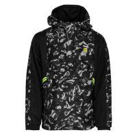 PUMA Dortmund Jakke Woven 1/2 Zip Tailored For Sports - Sort/gul