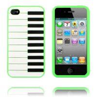 Piano (Grønn) iPhone 4/4S Deksel