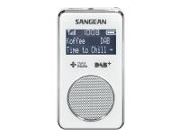 Sangean DPR-35, Bærbar, Analog og digital, DAB+,FM, 87,5 - 108 MHz, CT,PS,PTY,RT, 3,55 cm