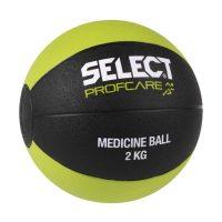 Select Medisinball 2 kg - Sort/Grønn