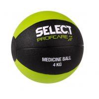 Select Medisinball 4 kg - Sort/Grønn