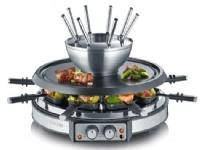 Severin Kombinerad raclette/fondue RG2348
