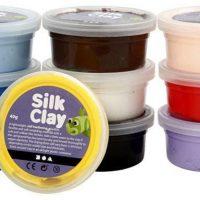 Silk Clay Blandede Farger
