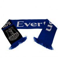 Taylors Football Souvenirs Everton Skjerf - Blå/Sort