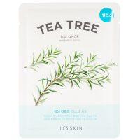 The Fresh Tea Tree Sheet Mask, It'S SKIN K-Beauty