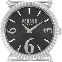 Versus by Versace Republique Dameklokke VSP1V0219 Sort/Lær Ø38 mm