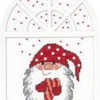 Vindusdekorasjon Julehjertet