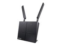 ASUS 4G-AC53U - Trådløs ruter - WWAN - GigE - 802.11a/b/g/n/ac - Dobbeltbånd service ikke inkludert