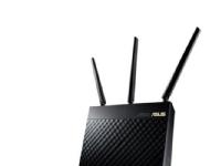 ASUS RT-AC68U - Trådløs ruter - 4-portssvitsj - GigE - 802.11a/b/g/n/ac - Dobbeltbånd