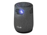 ASUS ZenBeam Latte L1 - DLP-projektor - LED - 300 lumen - 1280 x 720 - 16:9 - 720p - kortkast fast linse - Wi-Fi / Bluetooth - grå, svart
