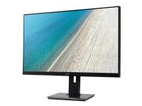 Acer B277bmiprzx - LED-skjerm - 27 - 1920 x 1080 Full HD (1080p) @ 75 Hz - IPS - 250 cd/m² - 4 ms - HDMI, VGA, DisplayPort - høyttalere - svart