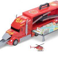 Alex's Garage Brannlastebil med Biler