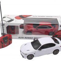 Alfa Romeo Giulia Radiostyrt Bil 1:18, Rød