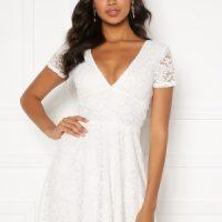 BUBBLEROOM Lexi lace dress White 36