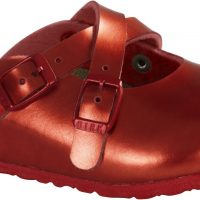 Birkenstock Dorian Kids Sandaler, Metallic Red 33