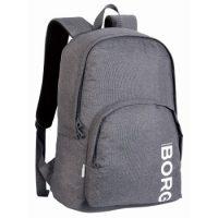 Björn Borg Core Basic Backpack Grå polyester One Size Barn