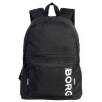 Björn Borg Core Basic Backpack Svart polyester One Size Barn