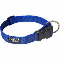 Blått Julius K9 Supergrip Halsbånd