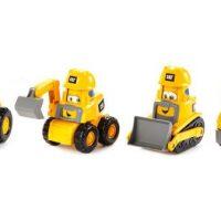 CAT Jr Crew Construction Pals 4-pack