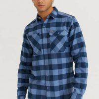 Columbia Skjorte Outdoor Elements Stretch Flannel Blå