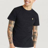 Dedicated T-shirt Stockholm Woodstock Black Svart