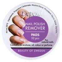 Depend Nail Polish Remover Pads 32pcs