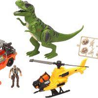 Dino Valley Giant T-Rex Attack Lekesett