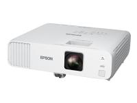 Epson EB-L200W - 3 LCD-projektor - 4200 lumen (hvit) - 4200 lumen (farge) - WXGA (1280 x 800) - 16:10 - 720p - 802.11a/b/g/n wireless / LAN / Miracast Wi-Fi Display - hvit