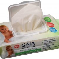 GAIA Baby Wipes Bambus 80pack
