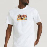 HUF T-shirt Dhalsim S/S Tee Hvit
