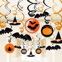 Halloween Dekorasjon Virvler 30-Pack