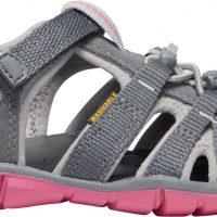KEEN Seacamp II CNX Sandal, Steel Grey/Rapture Rose, 39