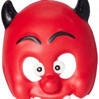 Kostyme Maske Djevel Barn, Rød