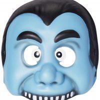 Kostyme Maske Vampyr Barn, Blå