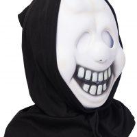 Kostyme Maske med Hette Spøkelse Barn