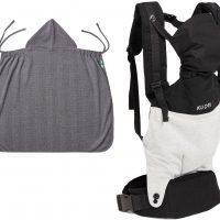 Kuori Comfort Bæresele inkl Trekk, Jersey Grey