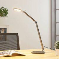 LED-skrivebordslampe Mion med dimmer