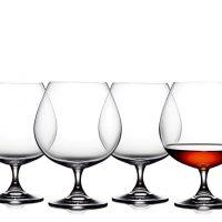 Lyngby Cognac juvelglass 69cl 4 stk.