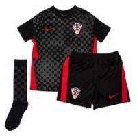 Nike Kroatia Bortedrakt Euro 2020 Mini-kit Barn