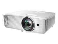 Optoma W309ST - DLP-projektor - portabel - 3D - 3800 lumen - WXGA (1280 x 800) - 16:10 - 720p - kortkast fast linse