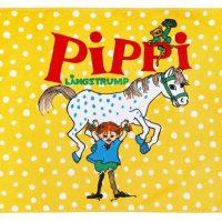 Pippi Langstrømpe Sterkest Badelaken, Gul