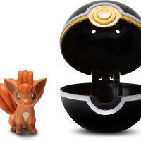 Pokémon Clip 'N' Go Vulpix Med Luxury Ball