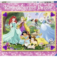 Puslespill 100 Disney Prinsesse Ravensburger