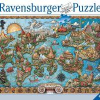 Puslespill 1000 Atlantis Ravensburger