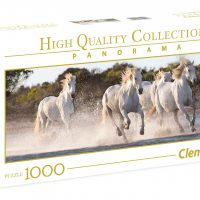Puslespill 1000 Pan Horses Clementoni