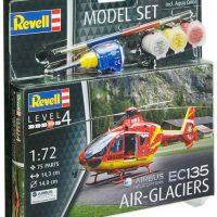 Revell Model Set EC135 AIR-GLACIERS