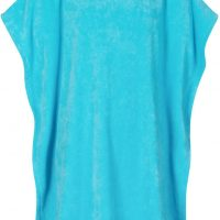 Saltabad Apelviken Badeponcho, Turquoise, 4-8 År